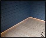 plancher en bois pour abri de jardin et chalet bois en kit