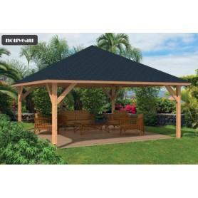 abri de jardin chalet de loisir habitable cabane de jardin abri paca jardin et chalet. Black Bedroom Furniture Sets. Home Design Ideas