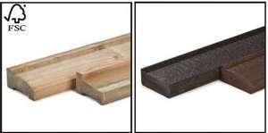 poutres de fondation pour abri de jardin et chalet bois en kit