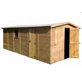 Garage en bois 19 m2