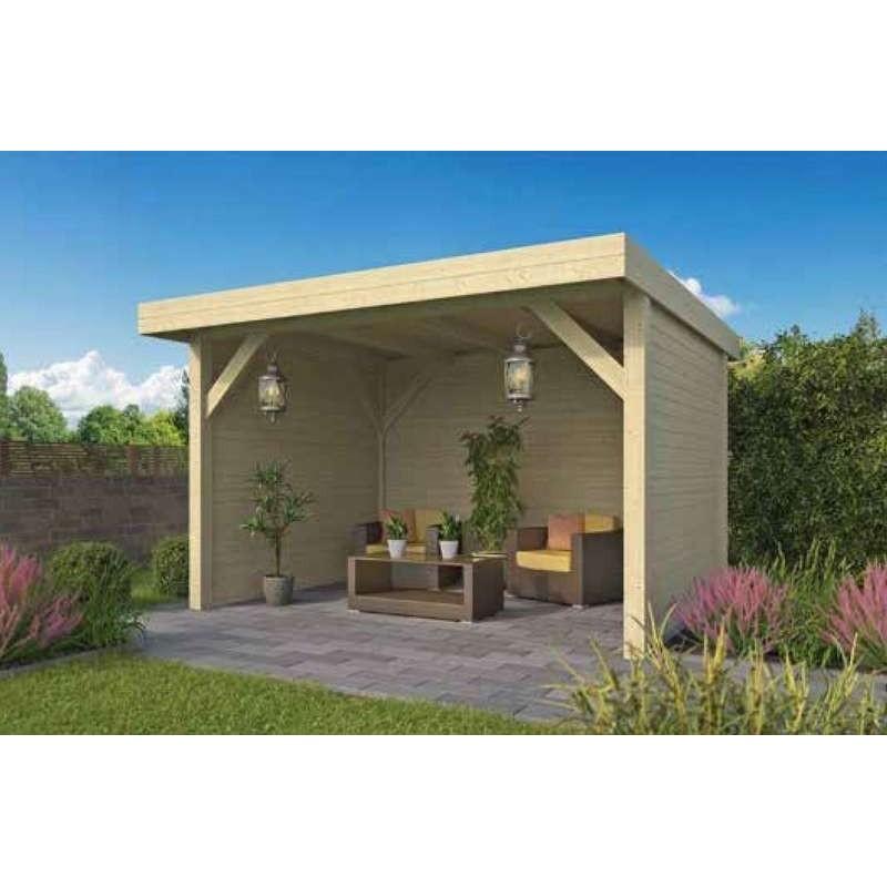 Pavillon-Chalet de jardin 12m2 400x300 MONNE TUINDECO