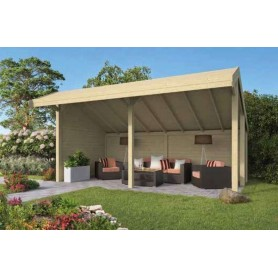 Kiosque-Chalet de jardin 23m2 598x390 ROIG