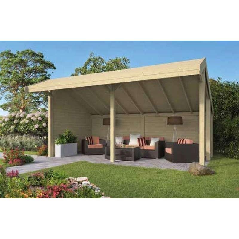 Kiosque-Chalet de jardin 23m2 598x390 ROIG TUINDECO