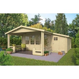 Chalet habitable 20m2 340x590cm COVENTRY