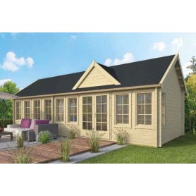Chalet habitable 37m2 400x930cm BIG LAUREN
