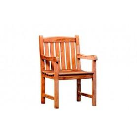 Chaise-fauteuil de jardin en teck Birmingham