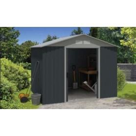 Abri de jardin armoire m tallique eco 0 25mm en promo for Abri jardin metallique