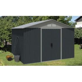 abri de jardin studio en kit cabane de jardin toit plat jardin et chalet. Black Bedroom Furniture Sets. Home Design Ideas
