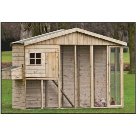 niche niches pas cher grande niche poulailler en bois. Black Bedroom Furniture Sets. Home Design Ideas