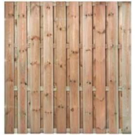 Brise vue en m l ze ecran de jardin bois vis acier 180x180 en promo - Brise vue jardin bois creteil ...