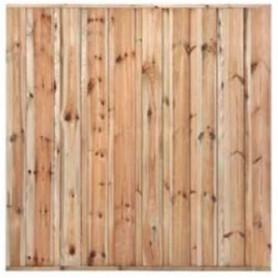 Ecran de jardin brise vue en bois Monaco 180x180