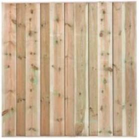 Ecran de jardin brise vue en bois Losser 180x180