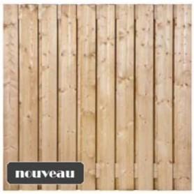 Ecran de jardin brise vue en bois azewin 180x180