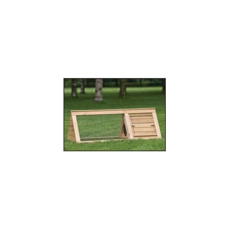 Clapier lapin en sapin abri pour animaux en bois clapier for Chalet en bois solde