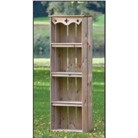 armoire de jardin 60x30x182 TUINDECO