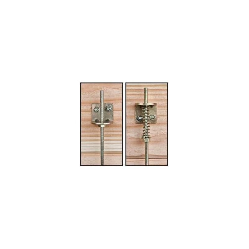 kit d 39 ancrage temp te en m tal jardin et chalet. Black Bedroom Furniture Sets. Home Design Ideas