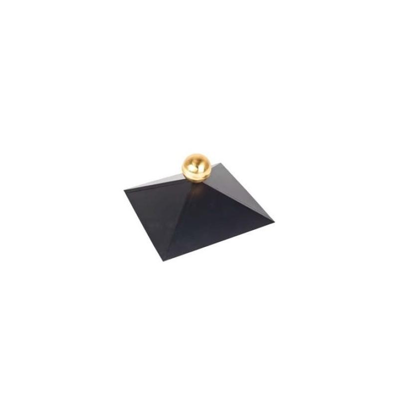 Chapeau pour chalet bois toit carré TUINDECO