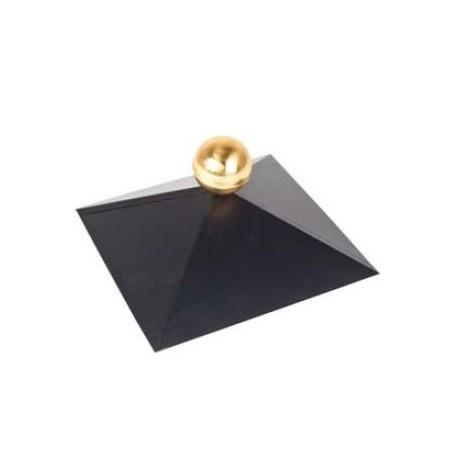 Chapeau pour chalet bois toit carré