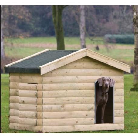 Niche a chien en bois Boxer