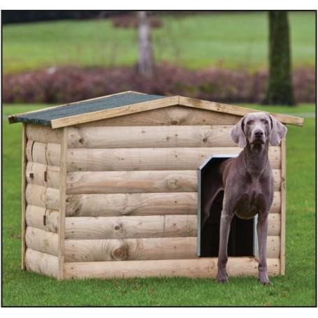 Niche à chien en bois modèle Labrador