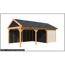 abri de jardin chalets de jardin jardin et chalet. Black Bedroom Furniture Sets. Home Design Ideas
