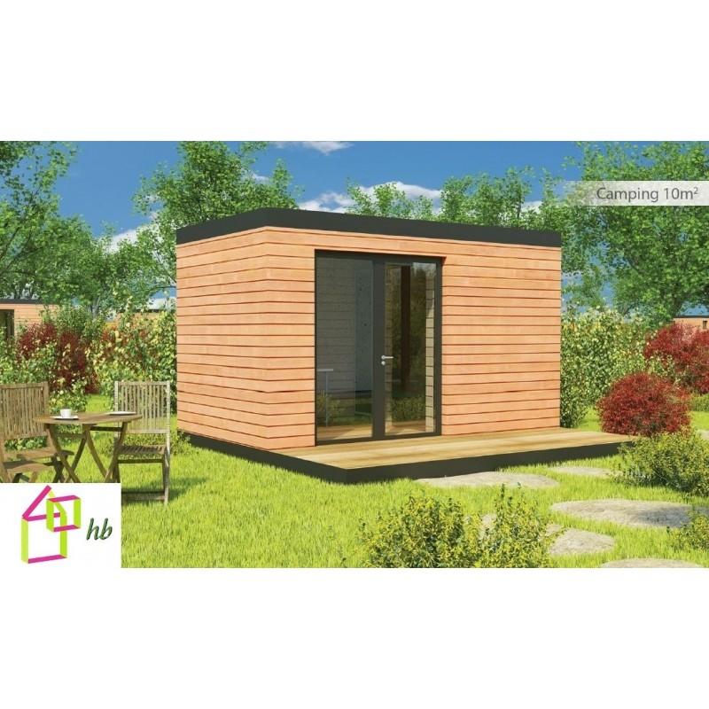Maison De Jardin 10 M2 A Ossature Bois Hll