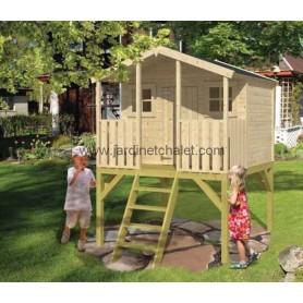 Maisonnette enfant en bois Peter Pan