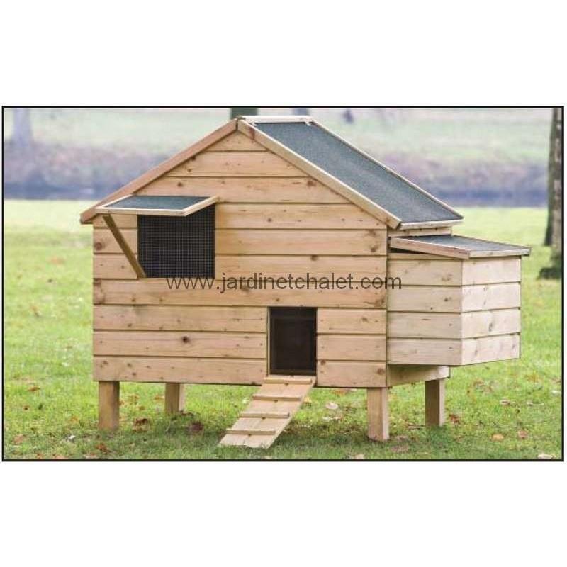 cabane pour poule pondeuse Poulailler extérieur Lakenvelder