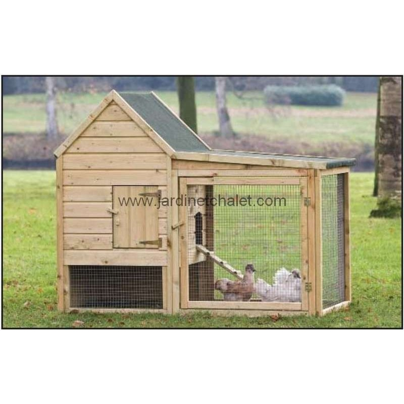 cabane pour poule wyandotte cage poule pas cher en bois. Black Bedroom Furniture Sets. Home Design Ideas