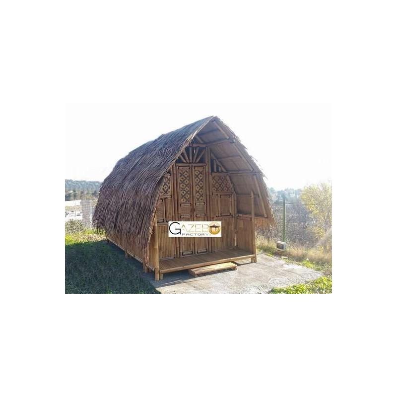 """Cabane en bambou 250x400cm """"Bambou House"""""""