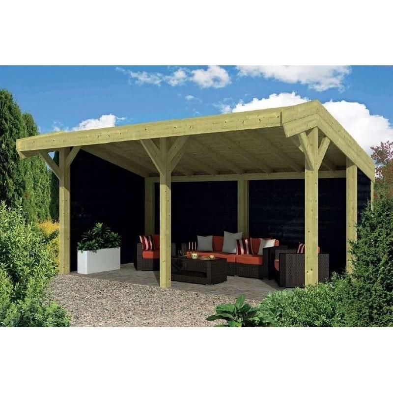 Pavillon-Chalet bois 23m2 600x390 Tongeren TUINDECO
