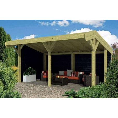 Pavillon-Chalet de jardin 23m2 600x390 Tongeren