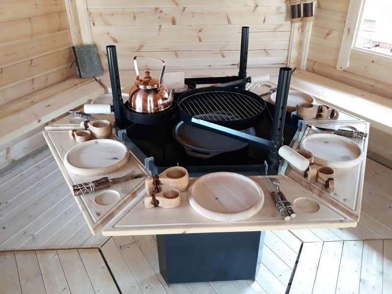 kota grill finlandais - barbecue