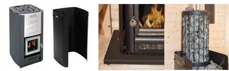 kit poele a bois pour sauna