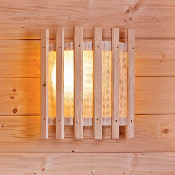 kit lampe sauna