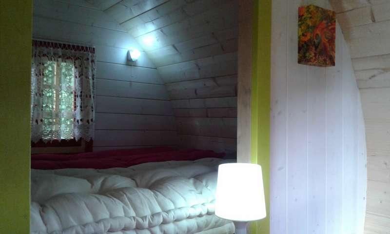 chambre chalet tonneau