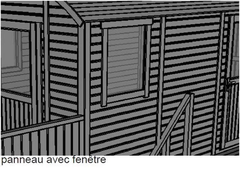 constructeur de roulotte en bois ajouter une fenêtre supplémentaire