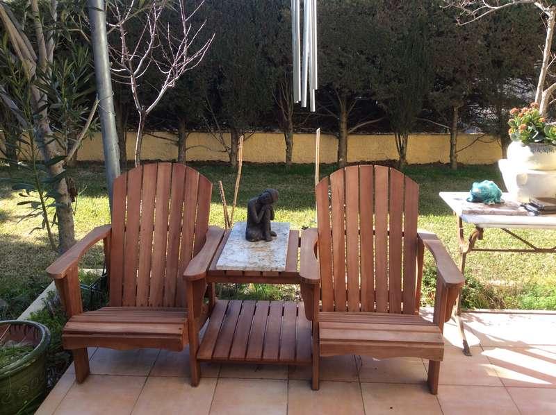 Loveseat relax mobilier de jardin TUINDECO