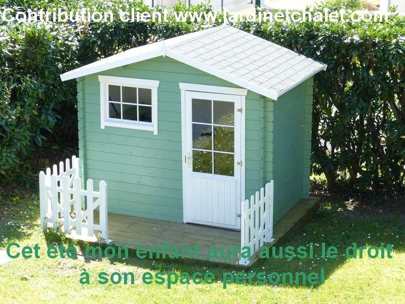 Maisonnette de jardin en bois pour enfants de TUINDECO